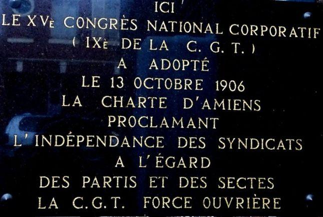 """Résultat de recherche d'images pour """"charte d'Amiens"""""""